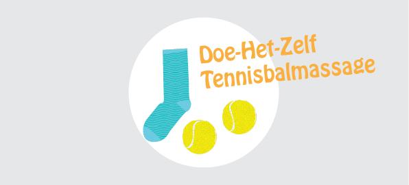 Tennisbal massage