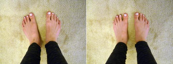 mijn voeten