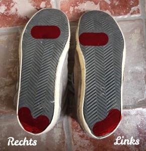 Mijn schoenzolen