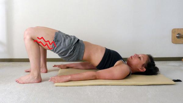 kramp bij pilates