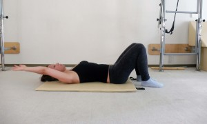 Pilates oefening
