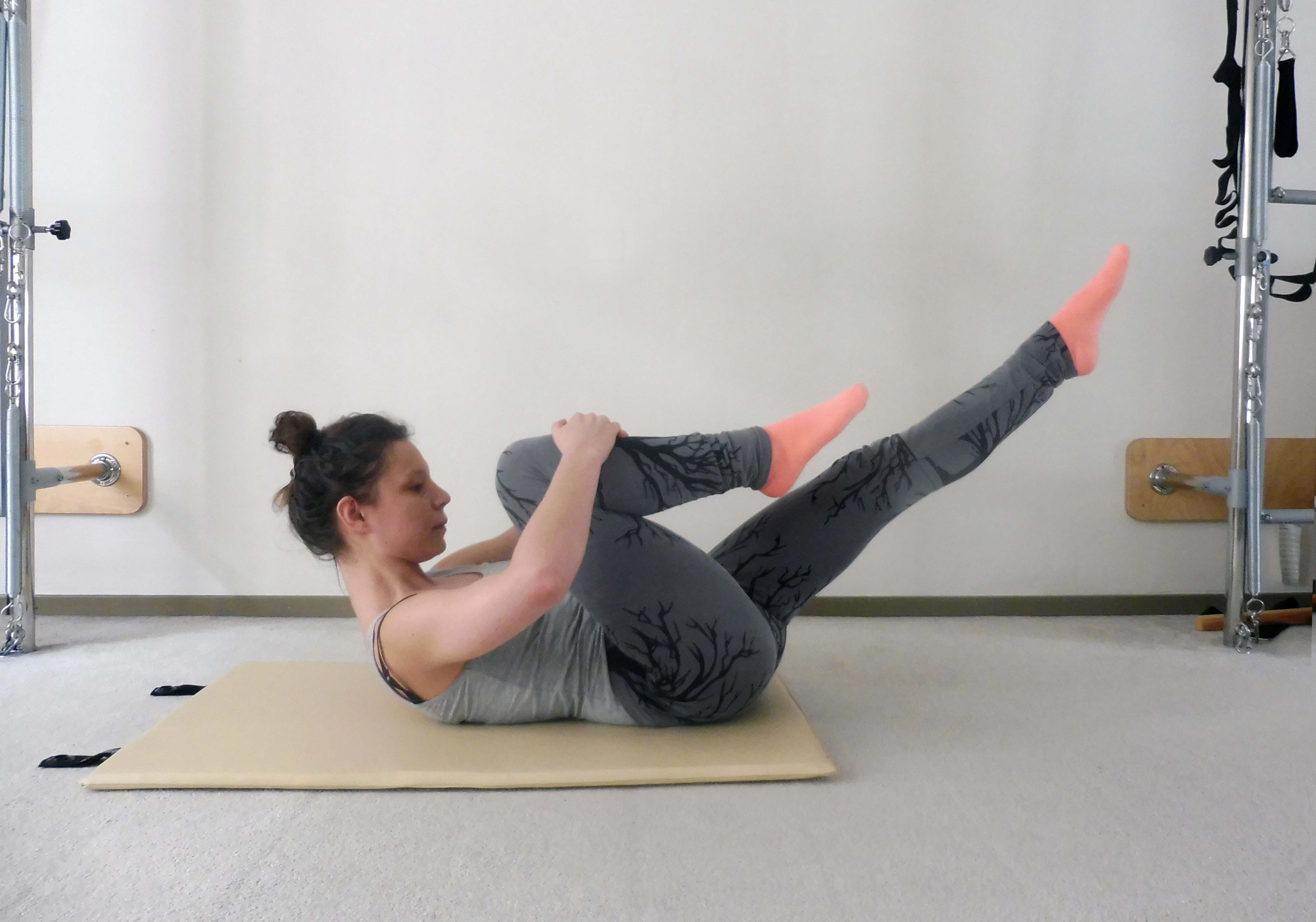 Single Leg Stretch Mat